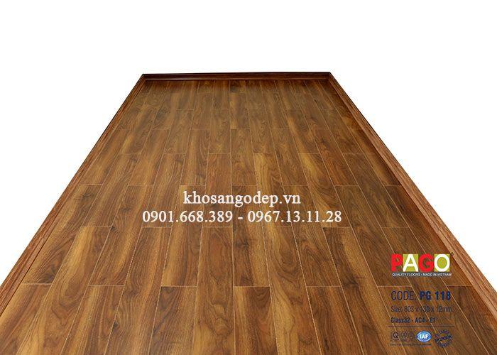 Sàn gỗ công nghiệp Pago PG118