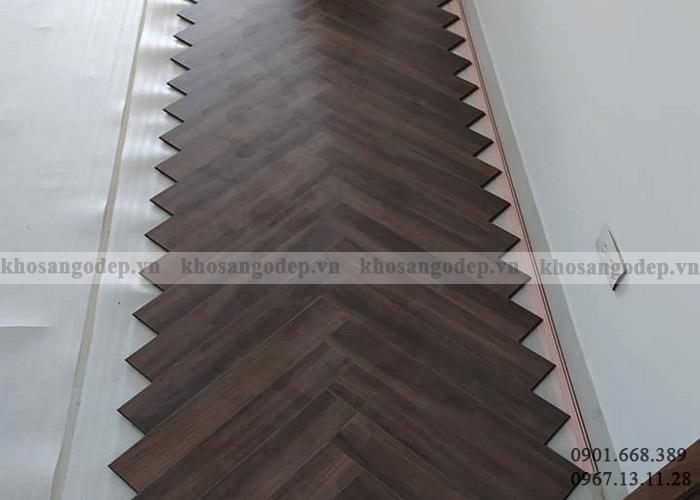 Sàn gỗ xương cá Pioner tại Hà Nội