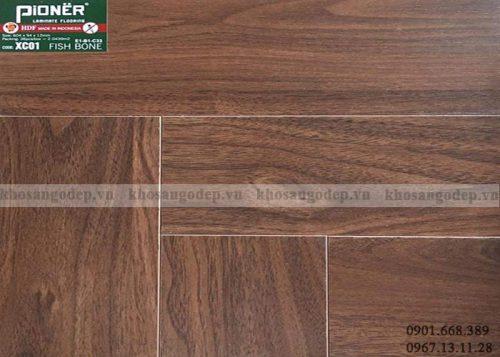 Sàn gỗ xương cá Pioner XC01