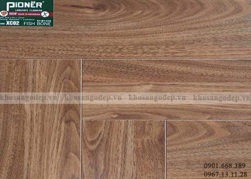 Sàn gỗ xương cá Pioner XC02