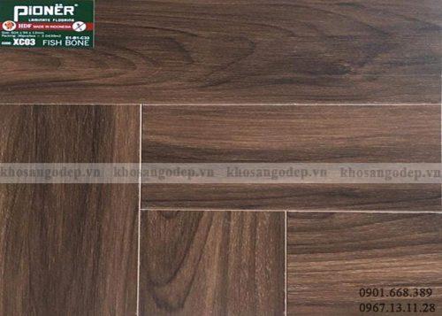 Sàn gỗ xương cá Pioner XC03