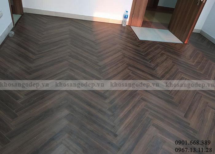 Sàn gỗ xương cá giá rẻ