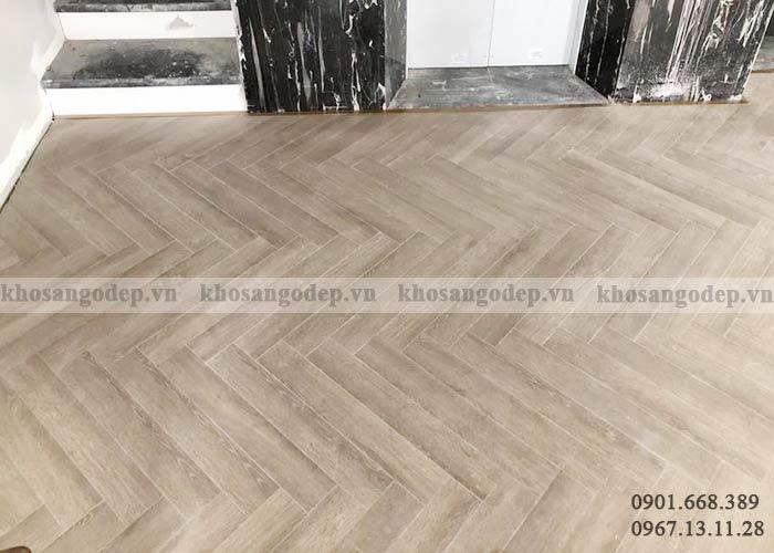 Sàn gỗ xương cá Pioner XC04 tại Hà Nội
