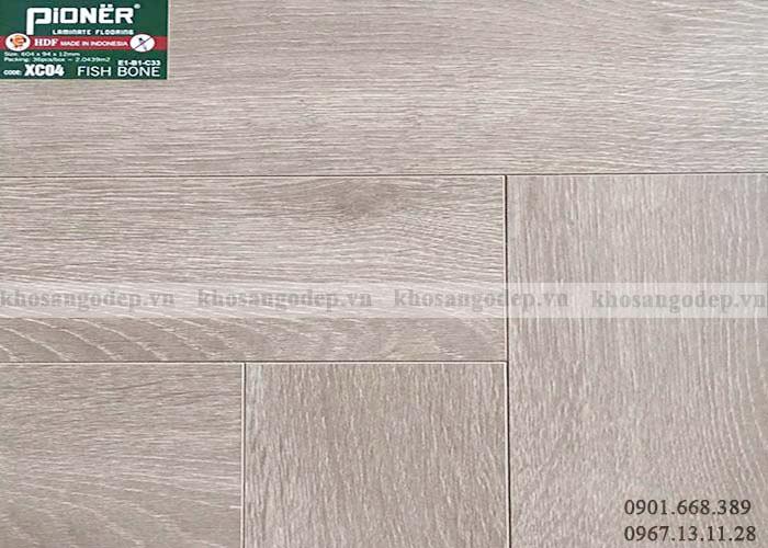 Sàn gỗ xương cá Pioner XC04