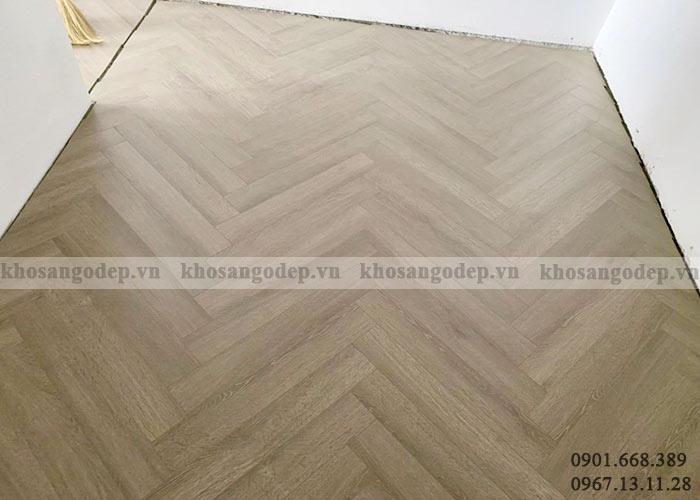 Thi công sàn gỗ xương cá XC04 tại Hà Nội