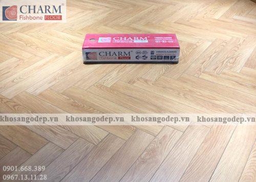 Sàn gỗ xương cá Charm C01