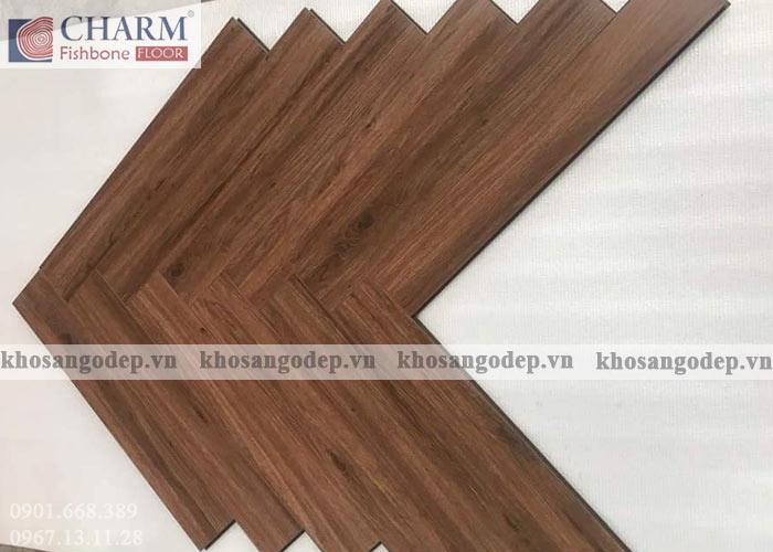 Sàn gỗ xương cá Charm C04