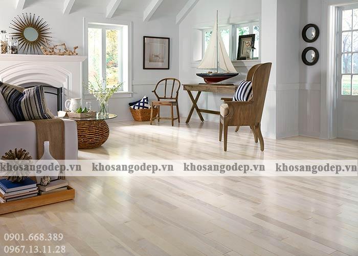 Thi công sàn gỗ cao cấp tại Hà Nội