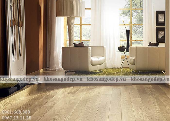 Ưu điểm sàn gỗ cao cấp