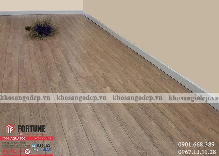 Sàn gỗ Fortune 12mm Aqua 900 tại Hà Nội