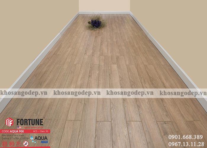 Sàn gỗ Fortune 12mm Aqua 900