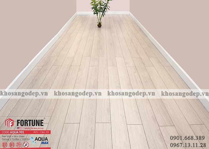 Sàn gỗ Malaysia Fortune 12mm 901 tại Hà Nội