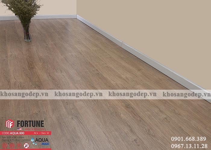 Sàn gỗ Malaysia Fortune 800 tại Hà Nội