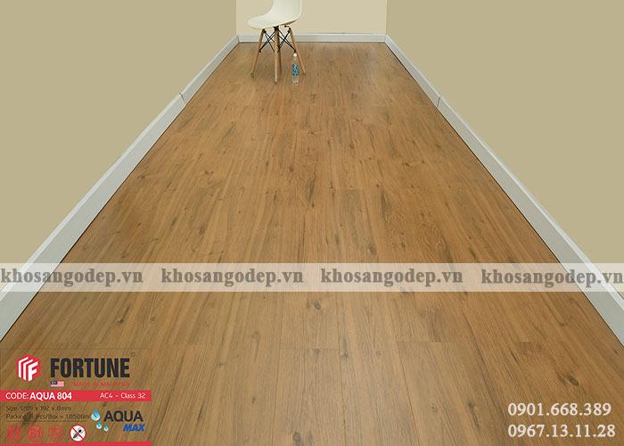 Sàn gỗ Fortune Aqua 804 taị Hà Nội