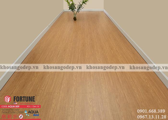 Sàn gỗ Malaysia Fortune Aqua 809