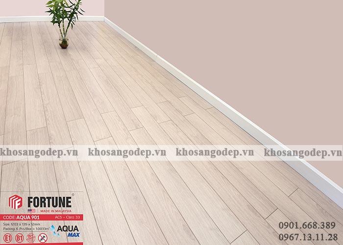 Sàn gỗ Malaysia Fortune 12mm 901
