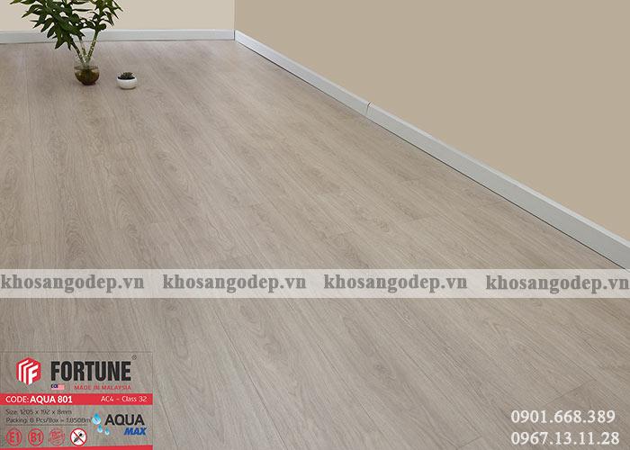 Sàn gỗ Fortune Aqua 801 tại Hà Nội