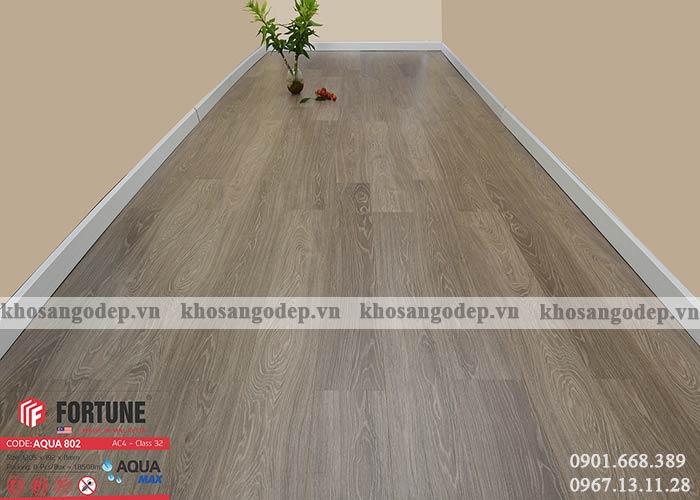 Sàn gỗ Fortune Aqua 802 tại Hà Nôị