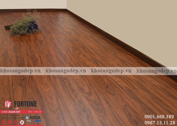 Sàn gỗ Malaysia Fortune 8mm 807