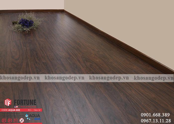 Sàn gỗ Fortune 8mm 808 tại Hà Nội