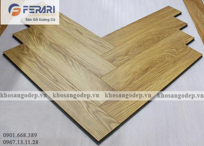 Sàn gỗ xương cá Ferary FA91
