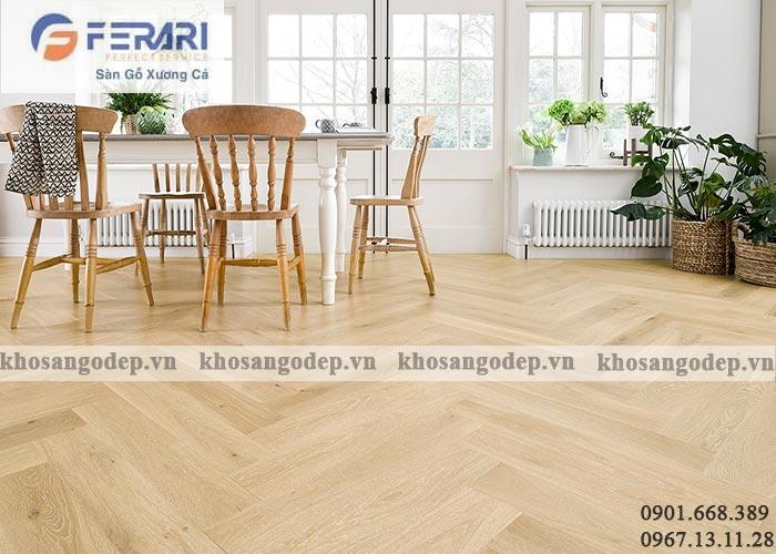 Sàn gỗ xương cá Ferary
