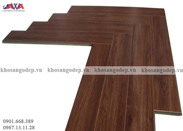 Sàn gỗ xương cá Jawa 152