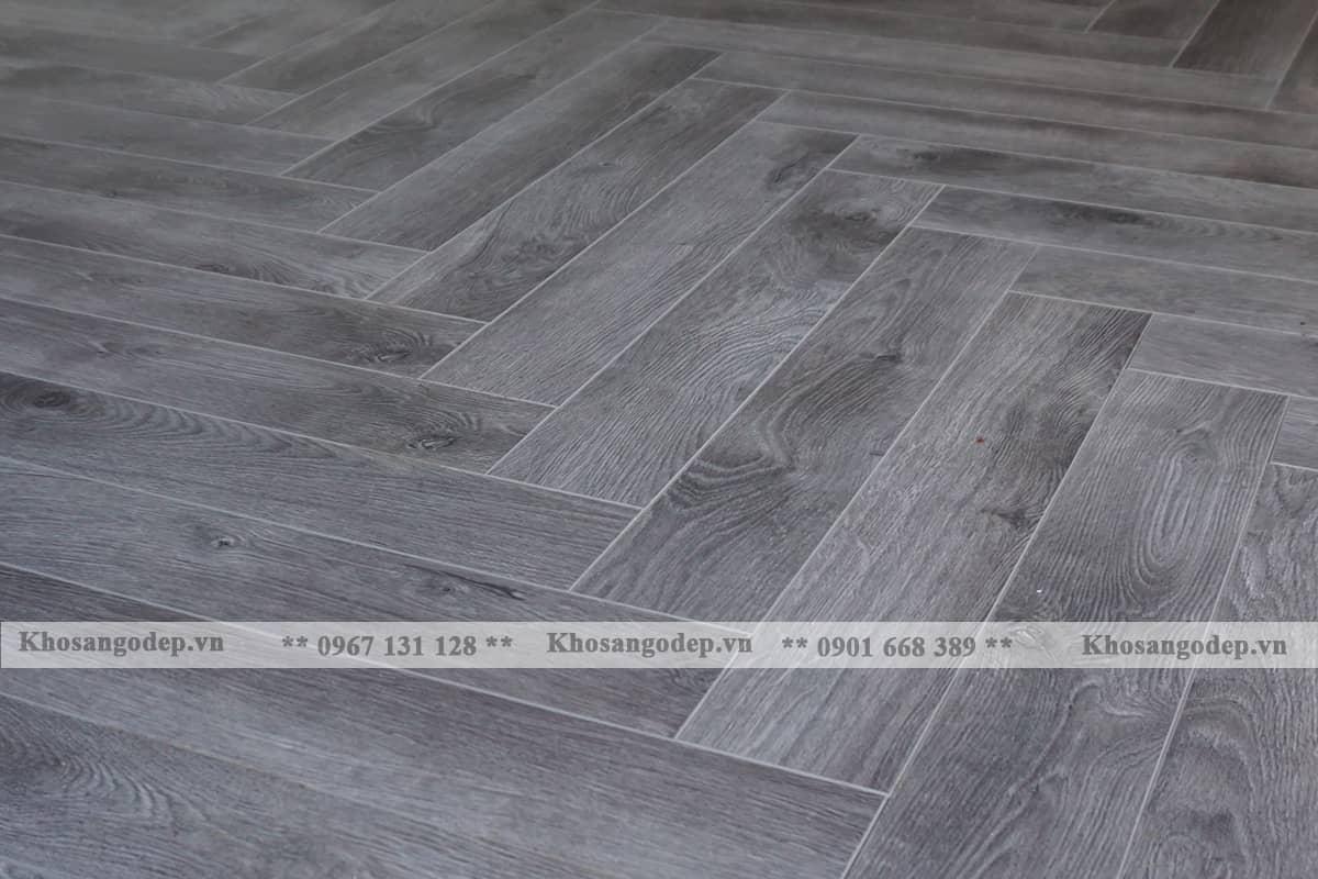 Sàn gỗ xương cá jawa 154