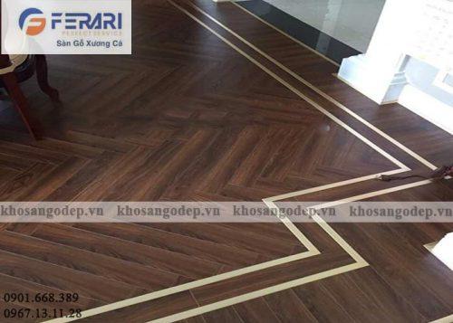 Sàn gỗ xương cá Ferary FA99 tại Hà Nội