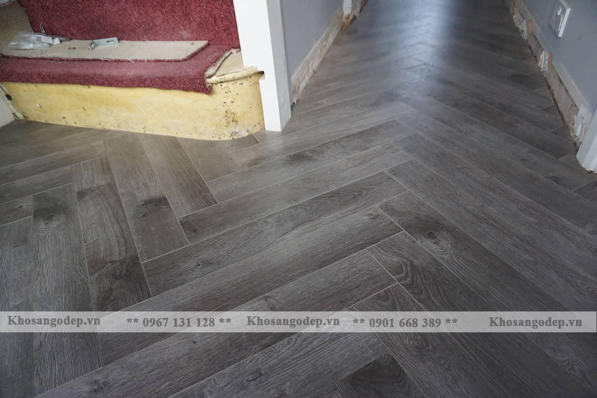 Thi công sàn gỗ xương cá jawa 154