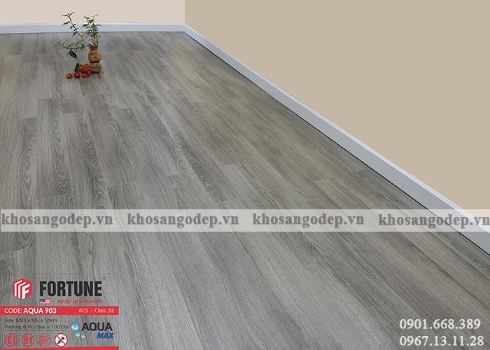 Sàn gỗ Malaysia Fortune 12mm 903 tại Hà Nội