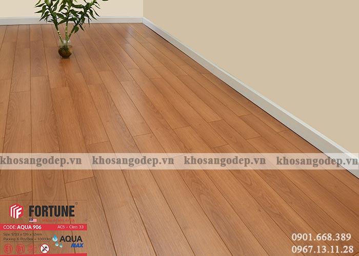 Sàn gỗ Fortune 12mm 906 tại Hà Nội
