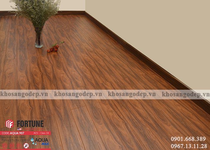 Sàn gỗ Malaysia Fortune 12mm 907 tại Hà Nội