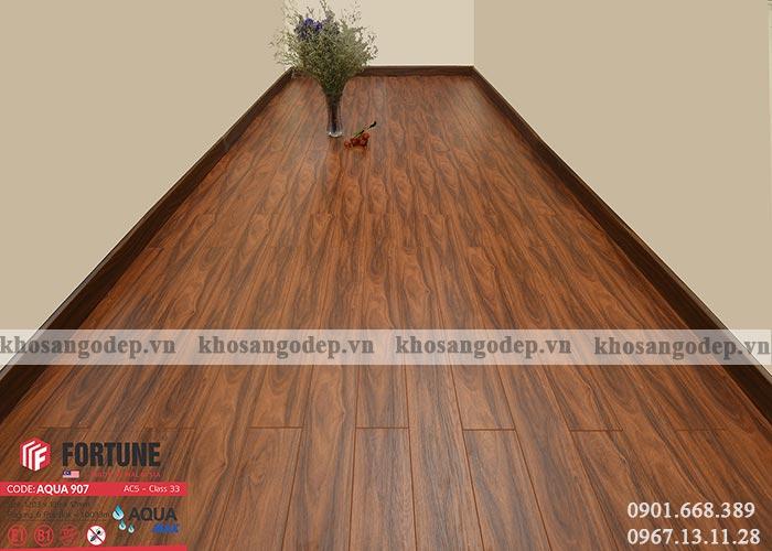 Sàn gỗ Malaysia Fortune 12mm 907