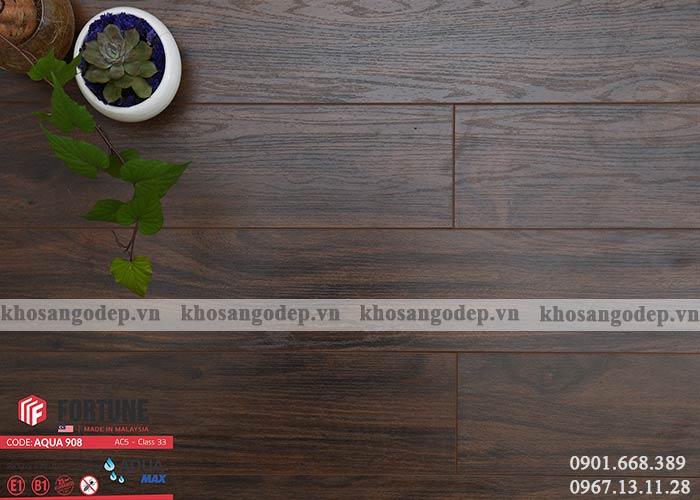 Sàn gỗ Malaysia Fortune 12mm 908