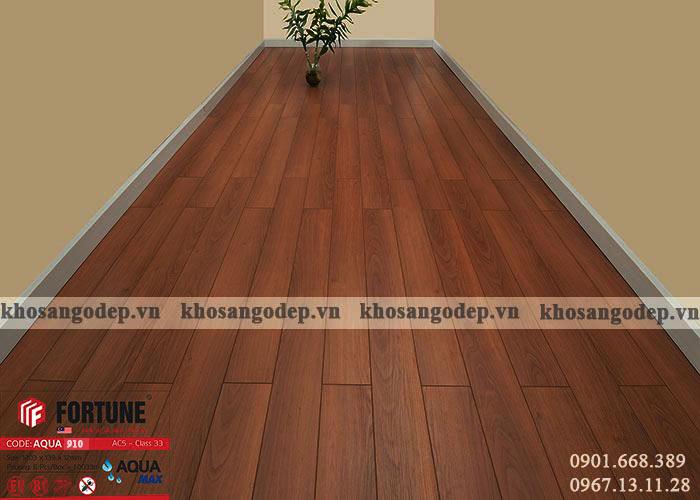 Sàn gỗ Fortune 12mm 910 tại Hà Nội