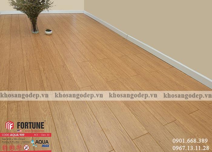 Sàn gỗ Malaysia Fortune 12mm 909