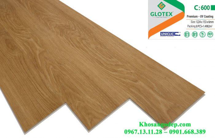 Sàn nhựa Glotex C600