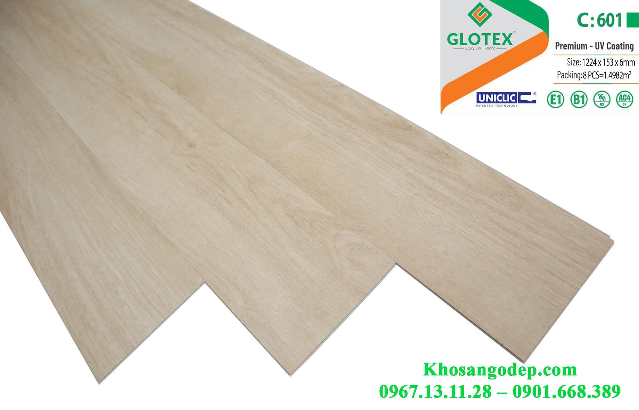 Sàn nhựa Glotex C601