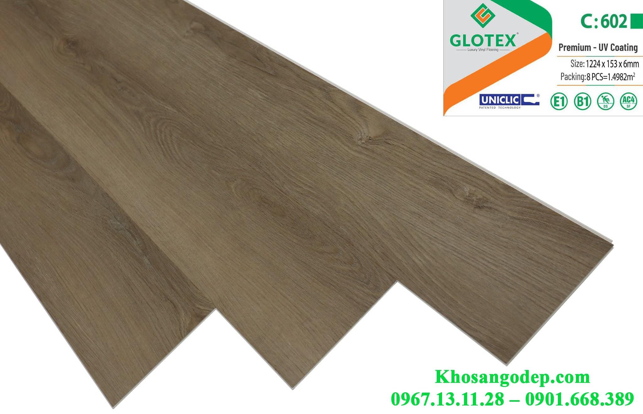 Sàn nhựa Glotex C602