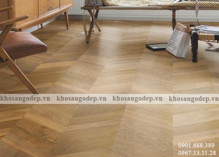 Sàn gỗ wilplus Xương cá3D tại Hà Nội