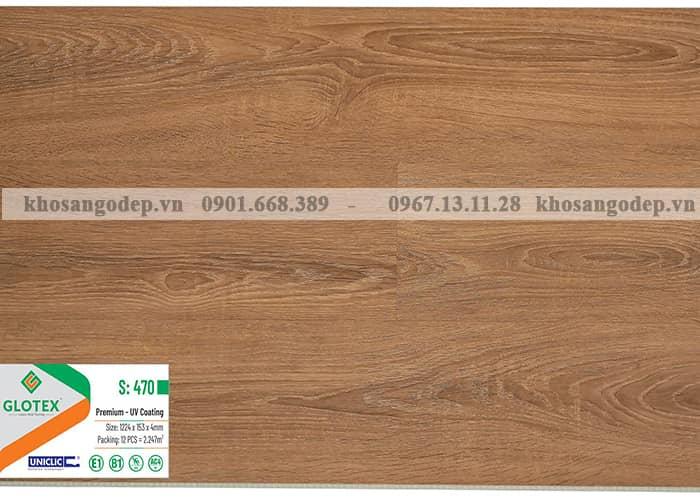 Sàn nhựa Glotex 4mm S470