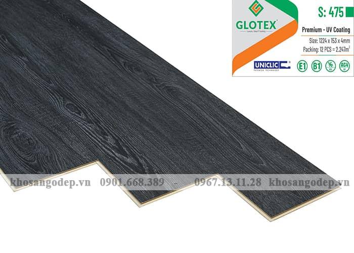 Sàn nhựa hèm khóa Glotex 4mm S475