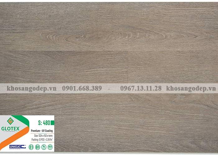 Sàn nhựa Glotex 4mm S480