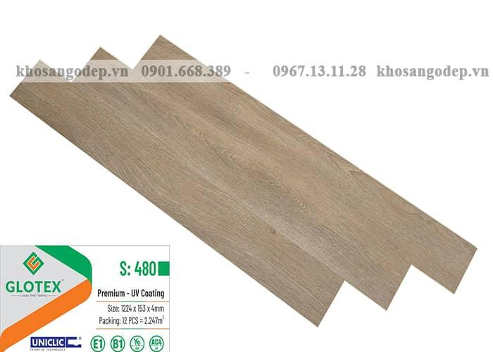 Sàn nhựa Glotex S480