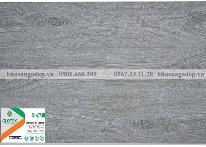 Sàn nhựa Glotex 4mm S474
