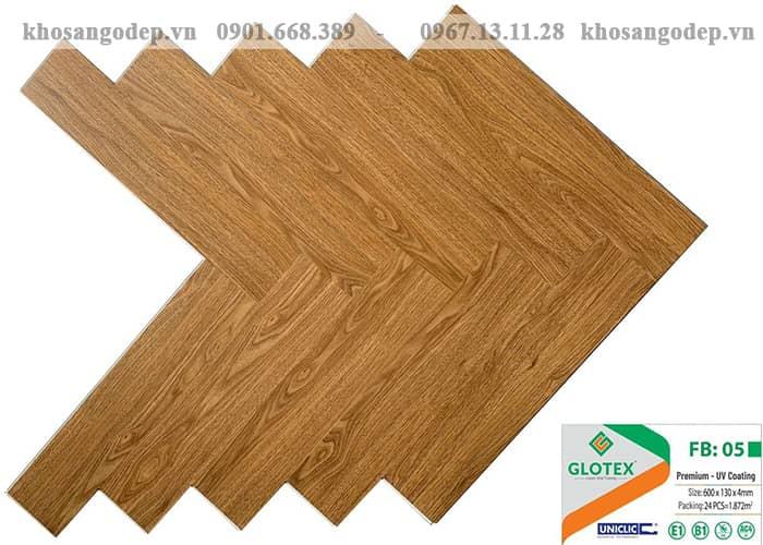 Sàn nhựa Glotex xương cá FB05