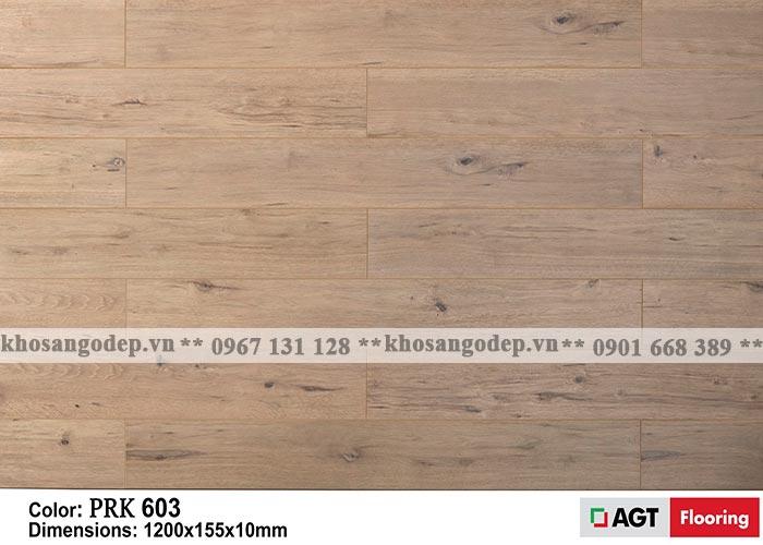 Sàn gỗ AGT 10mm màu vàng trắng