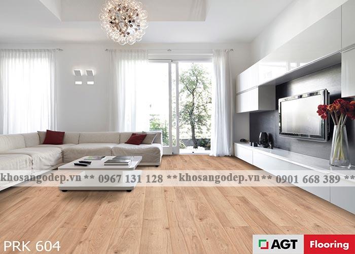 Sàn gỗ AGT 10mm PRK604 tại Hà Nội