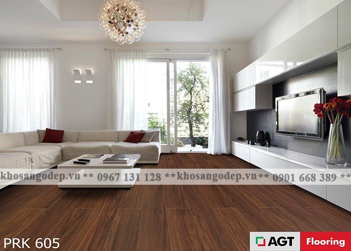 Sàn gỗ AGT 10mm PRk605 tại Hà Nội
